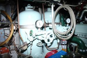 圧縮空気タンク